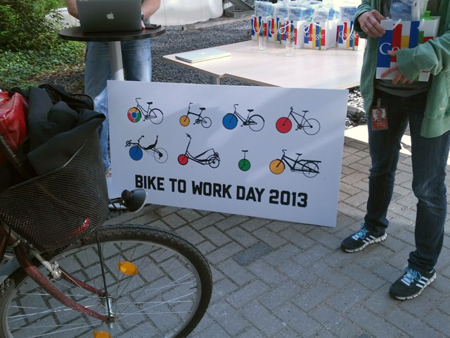 Bike To Work Day At Google Germany