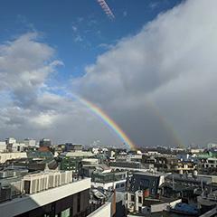 Double Rainbow Over Google Germany