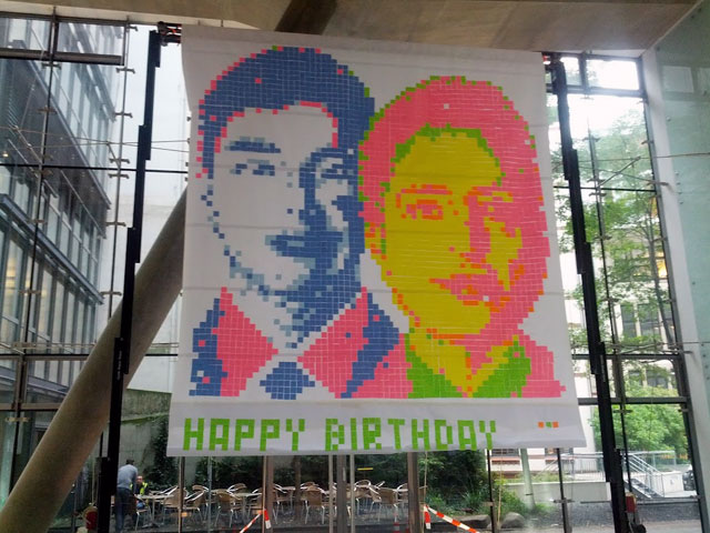 Happy Birthday Google: Larry Page & Sergey