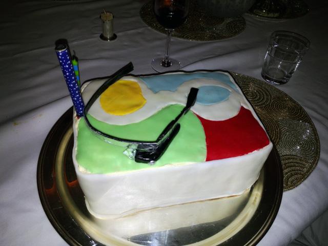 Google Glass Cake