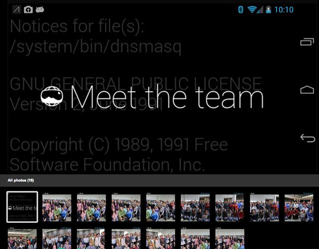Google Glass Easter Egg: Meet The Team