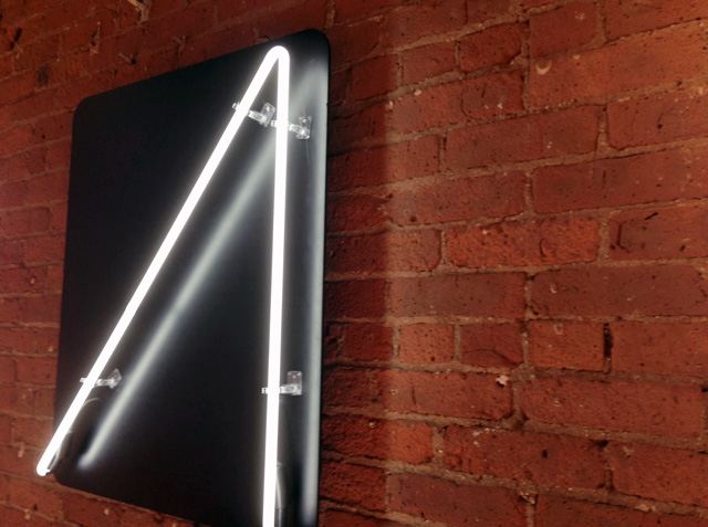 Google Glass Neon Sign