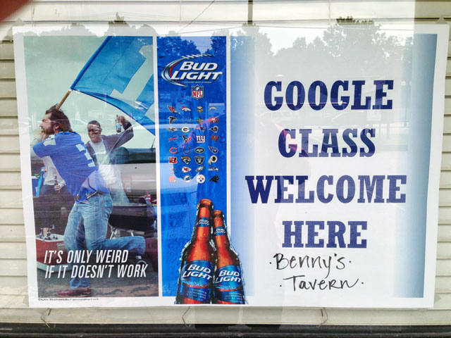 Google Glass Welcome Here