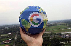 3D Papercraft Google Globe