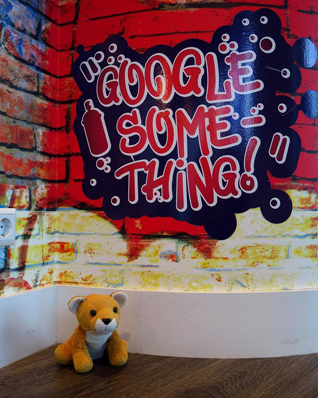 Google Graffiti Art