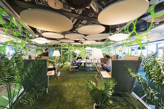 Google Green Office Space