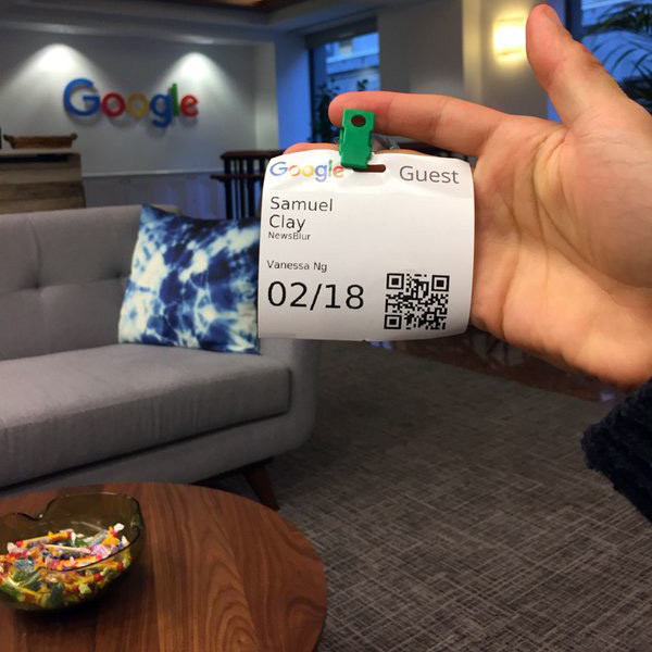 Google Guest Badge