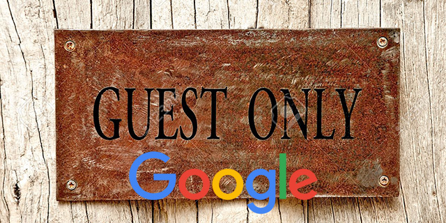 Google: Don't Guest Blog For Links, Use Your Own Site