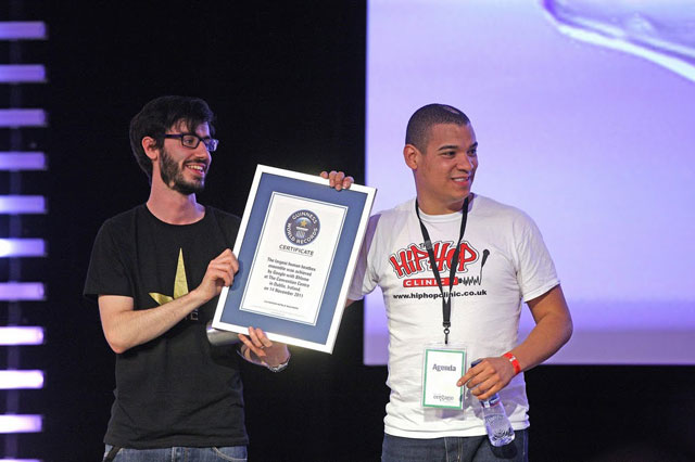 Google Beatbox Guinness World Records