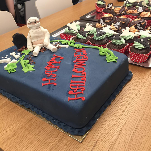 Halloween Cake & Treats At Google