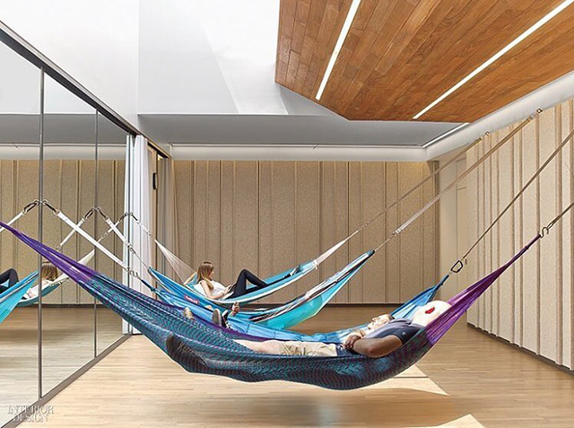 Google NYC Hammock Room