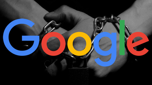 Google hands tied
