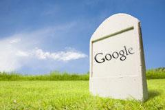 Google headstone