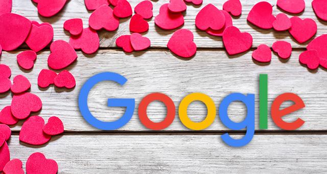 Google Hearts