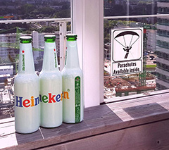 Google Heineken Bottles