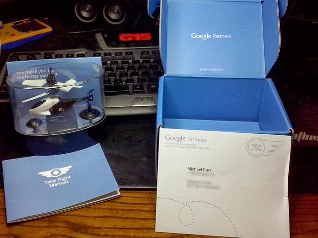 Google Toy Helicopters