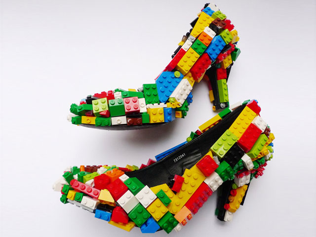 Google Lego High Heels