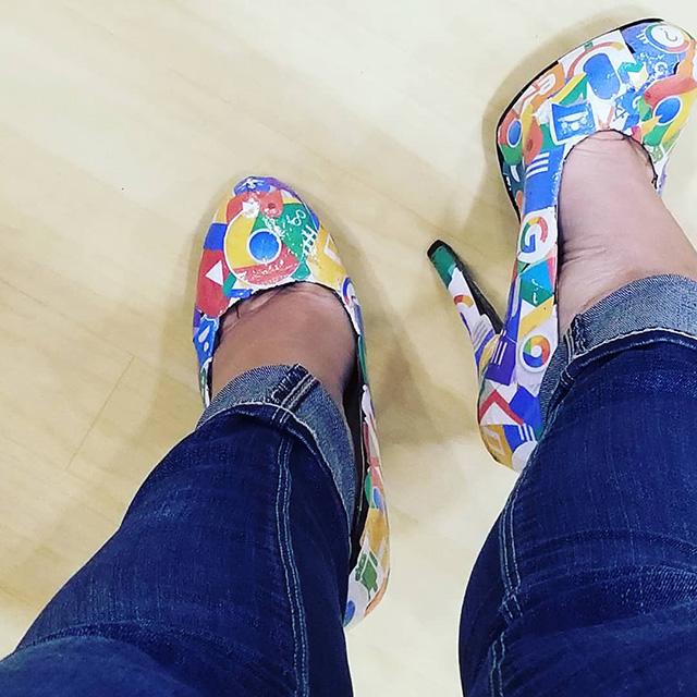 Google High Heels & Pumps