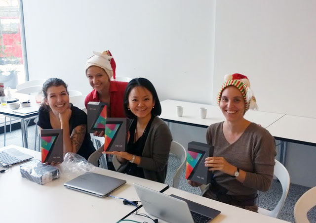 Google Holiday Gifts To Employees - Nexus 7