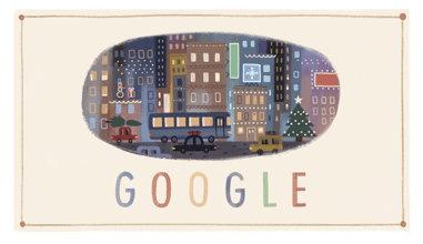 Google Christmas Day Logo