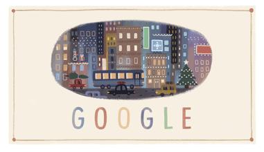 Google Christmas Day Logo
