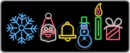 Google's Happy Holidays Logo