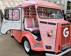 The Google Home Mini Donut Truck
