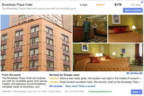hotel details