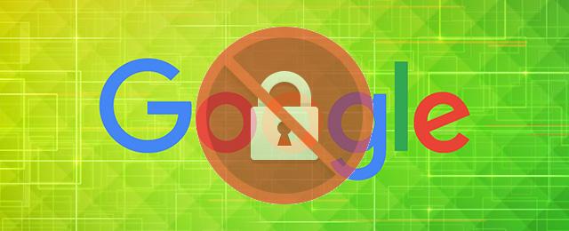 google https broken