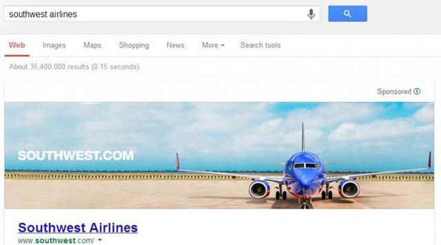 Google's Huge Banner Ads