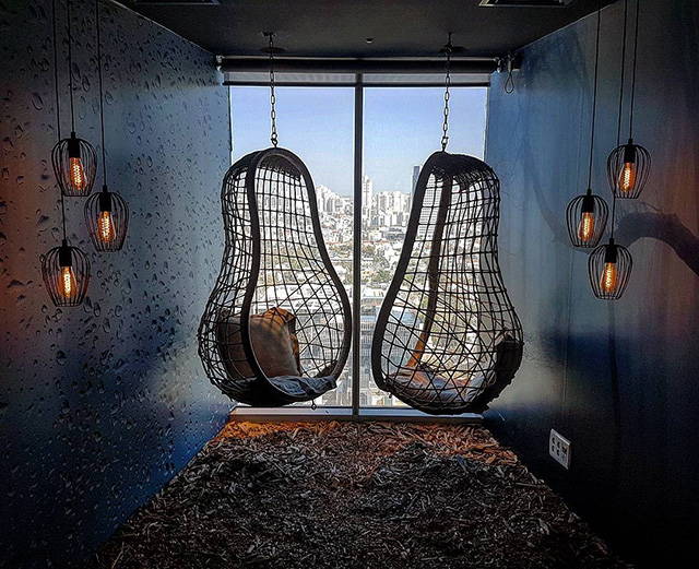 Google Life Size Birds Nest Room