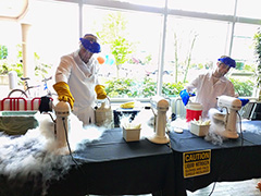 Google Makes Ice Cream With Liquid Nitrogen