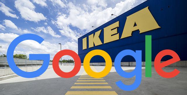 Google & Ikea
