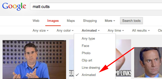 animated Google Image Search