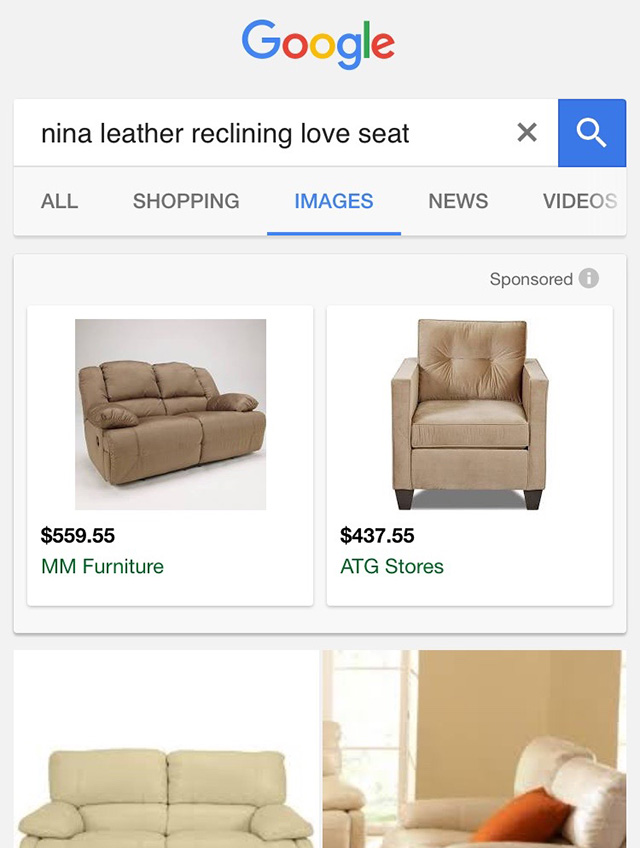 Google Image Search Sponsored Ads In Mobile