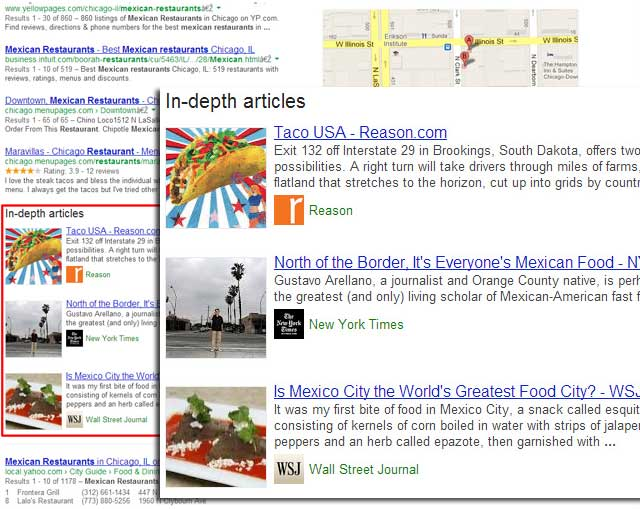 Google In-Depth Rich Snippets Articles