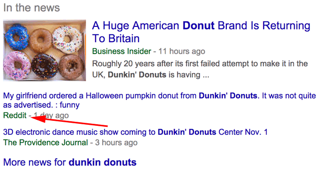 Google New In The News Reddit