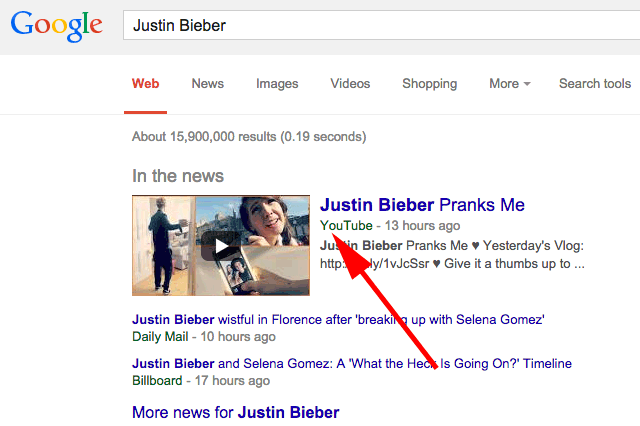 Google New In The News Twitter