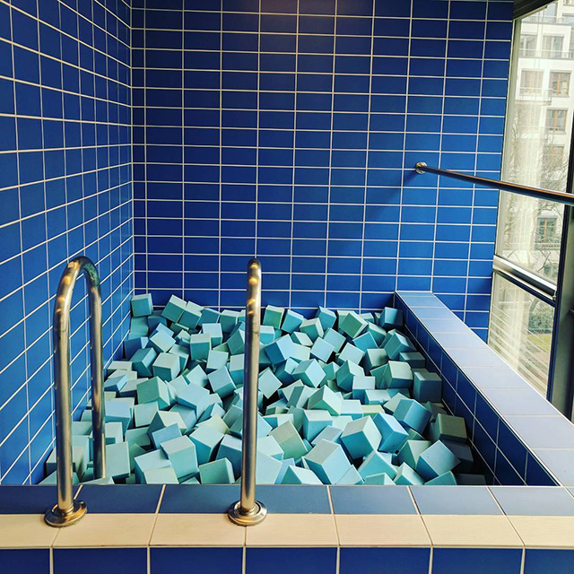 Google Mini Swimming Pool In Hamburg Office
