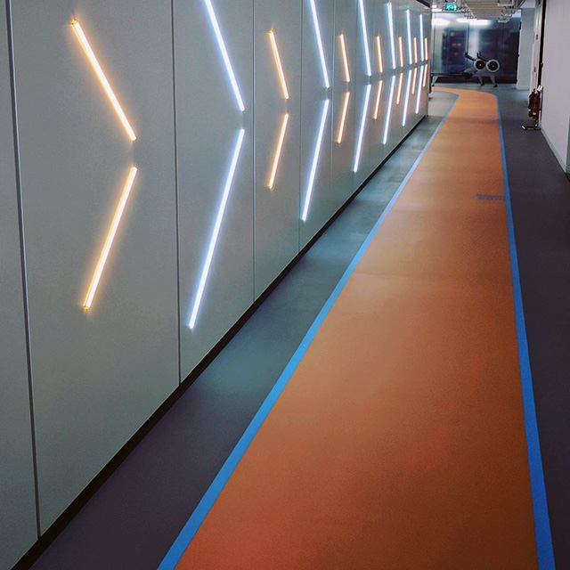 Google Indoor Running Track
