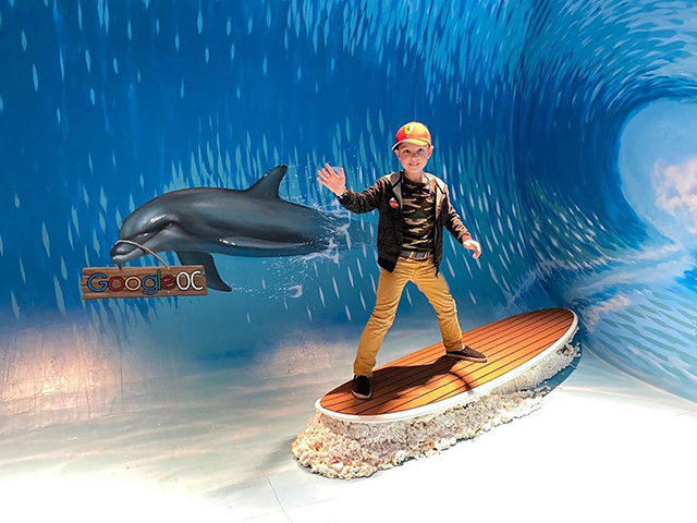 Google OC Indoor Surf Room
