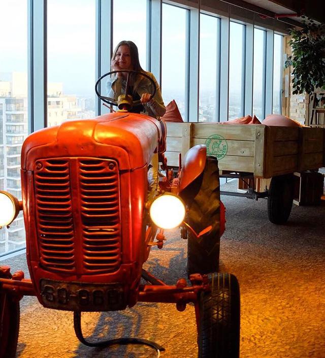 Google Has An Indoor Tractor