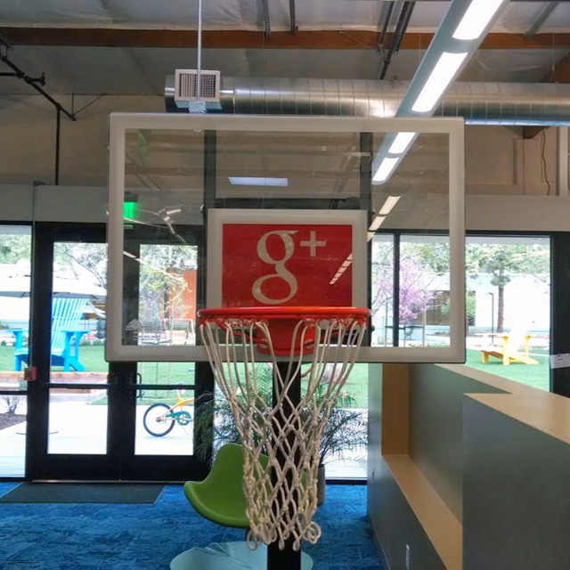 Google+ Basketball Hoop