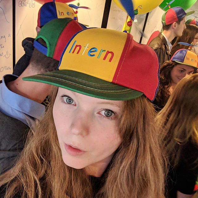 Google Intern Caps