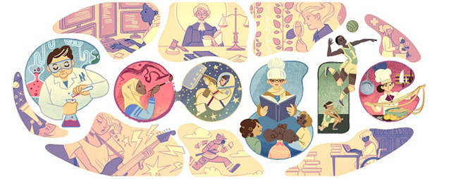 Google Logo For International Womens Day