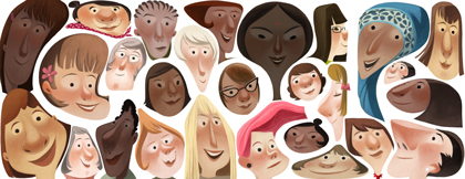 Google's International Women's Day Logo 2013