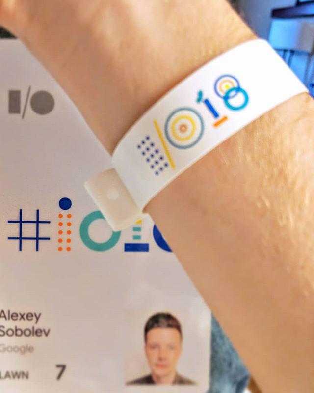 Google I/O 2018 Badges