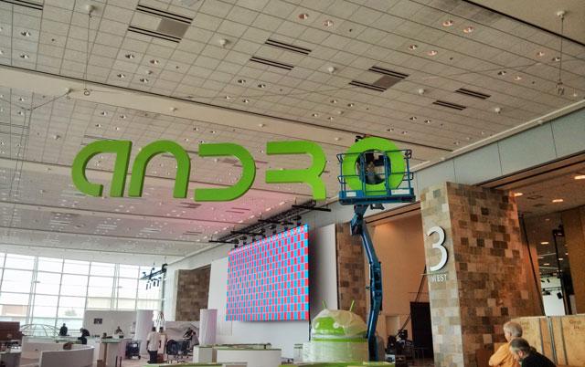 Android Sign at Google I/O