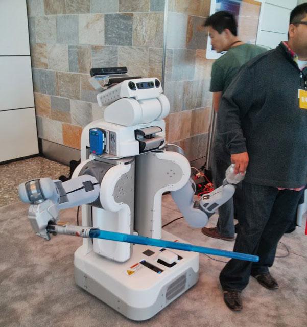 Light Saber Google Robots