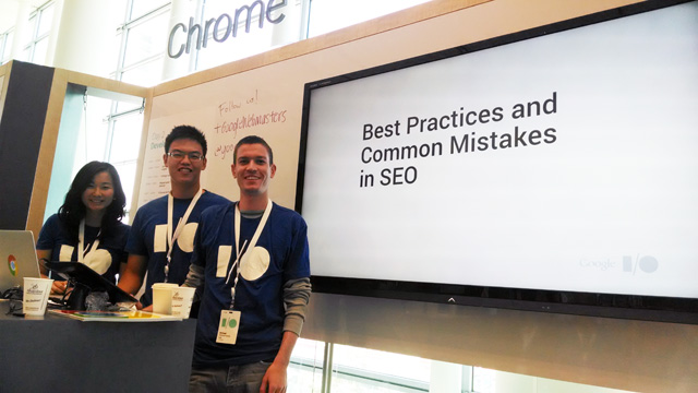 Google I/O SEO Session